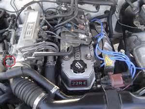 Toyota 22re Where Is The Pcv On 94 22re Toyota Nation Forum