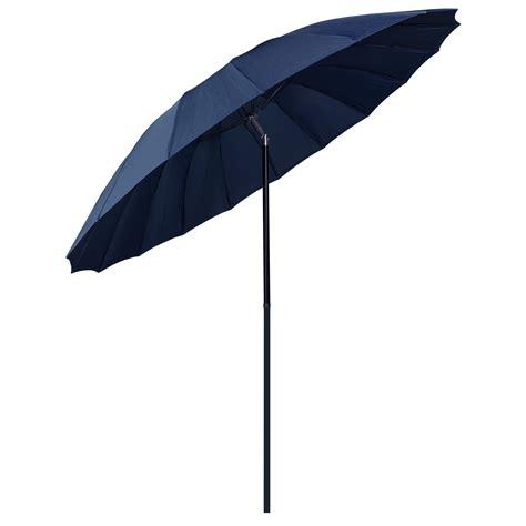 NEW 2.5m Tilting Shanghai Parasol Umbrella Sun Shade For