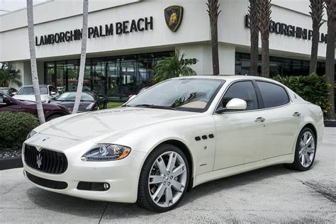 Pre Owned Maserati Quattroporte by Pre Owned Maserati Quattroporte Palm Fl