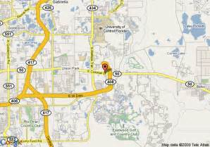 college of central florida map map of crossland orlando of central florida
