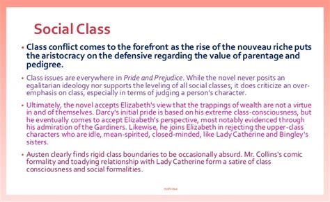 themes found in pride and prejudice pride and prejudice themes compiled by nish
