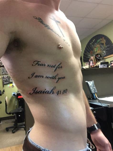 isaiah 41 10 tattoo isaiah 41 10 rib tats isaiah 41 10