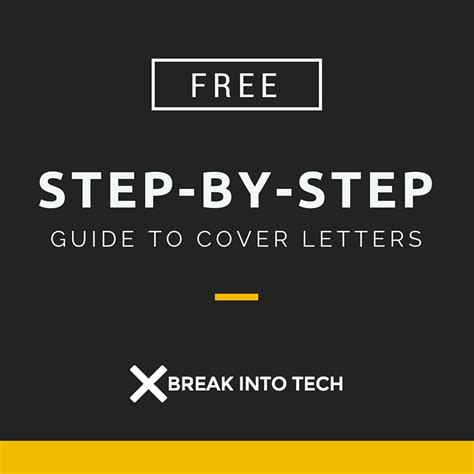 step by step cover letter the complete step by step guide to the cover
