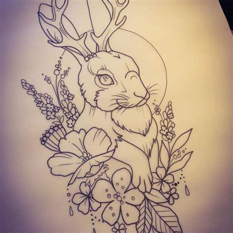 jackalope tattoo afbeeldingsresultaat voor jackalope ideas