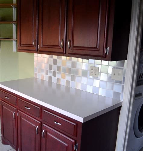Kitchen Contact Paper contact paper tiled backsplash my goal is simple