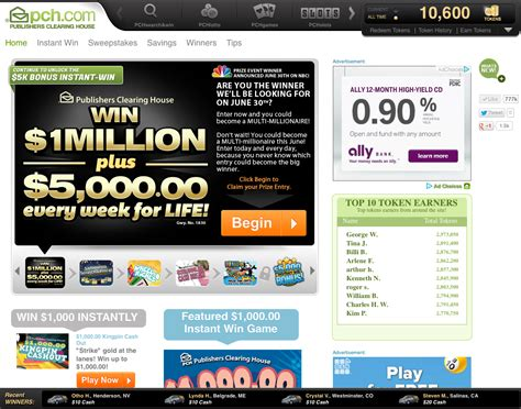 Win Instant Cash Now - new pch com homepage