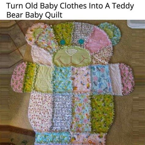 pattern for baby clothes quilt quilt made out of baby clothes for babies pinterest