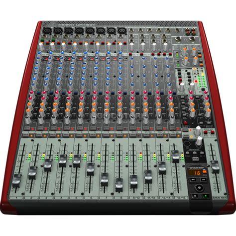 List Mixer Behringer behringer xenyx ufx1604 recording mixer with usb