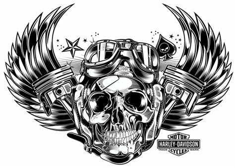 Selimut Motor Harley Davidson Skull skull pistons harley davidson us