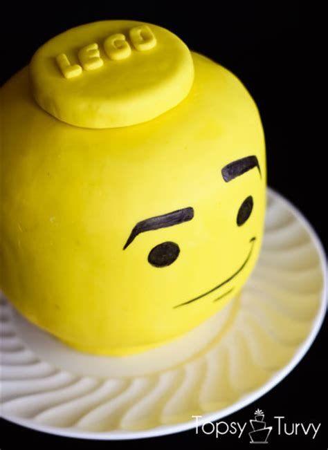 lego head tutorial lego head cake u create