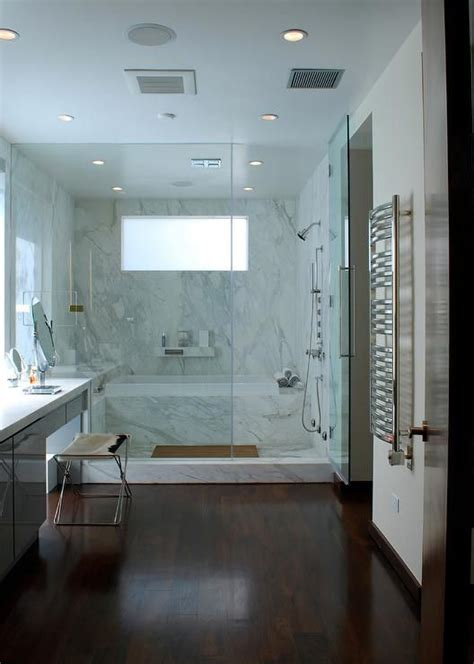 bathtub in shower 19 gorgeous showers without doors