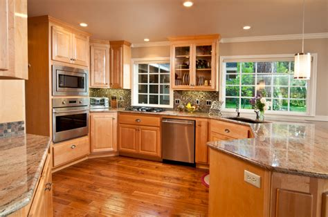 Hardwood Kitchen Floor by 49 High End Wood Kitchen Designs
