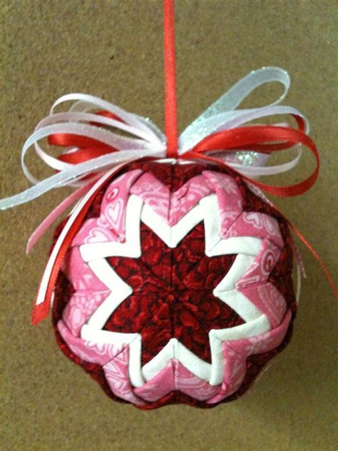 309 best quilted ornaments images on quilted