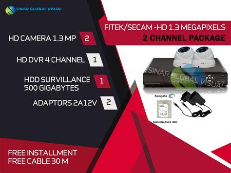 Pasang Cctv Berbagai Channel Dengan Harga Yang Menarik harga cctv 2 kamera 1 dvr dan melayani area wilayah di