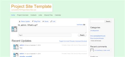 multisite template project management with multisite p2 part 2