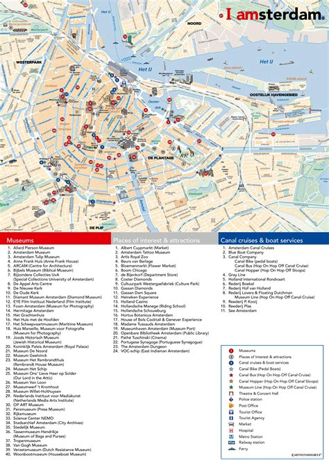 netherlands attractions map maps update 728407 tourist map of amsterdam amsterdam