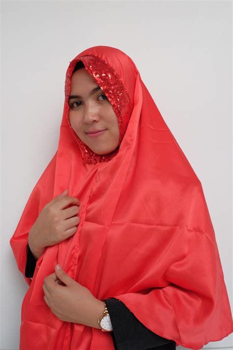 jilbab instan velvet sequin terbaru  bundakunet