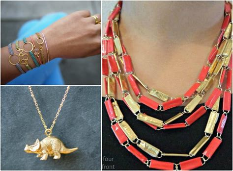 how to make cool jewelry at home 18 cool ways to make diy jewelry