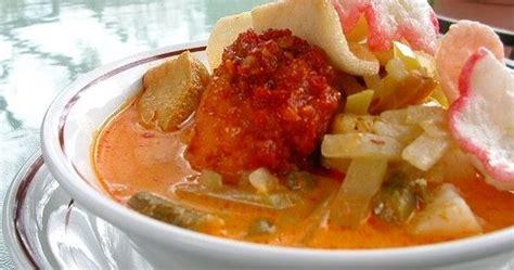 membuat lontong sayur labu siam resep masakan indonesia