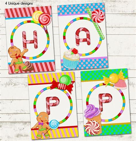 Candyland Printable Decorations