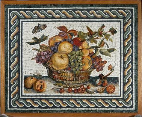 alimentazione degli antichi romani il mosaico romano storia e tecniche di produzione
