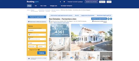 appartamenti formentera booking formentera libre presente in booking properties