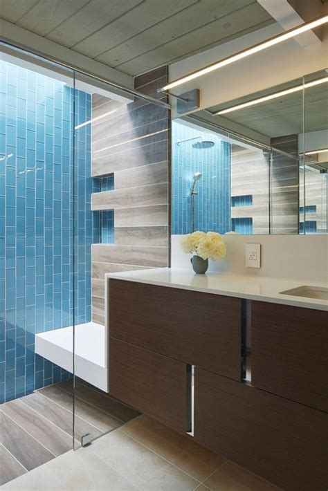 Kitchen Tiles Design Ideas 35 Trendy Mid Century Modern Bathrooms To Get Inspired