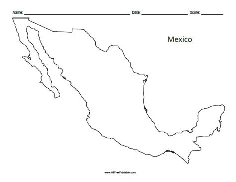 map of mexico printable printable mexico map printable maps
