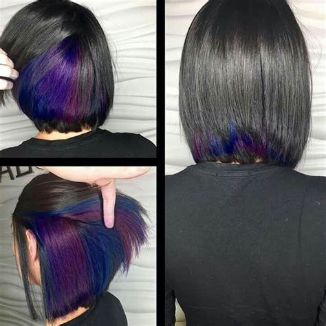 color blocking hair best 25 color block hair ideas on style