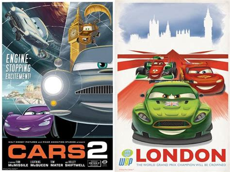 regarder le film cars 3 cars 2 affiches vintage et tryptique hd 3dvf com
