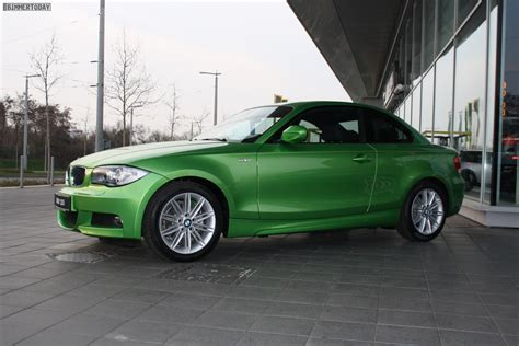 Bmw 1er Coupe Bericht by Lust Auf Farbe Bmw 1er Coup 233 In Power Green Metallic