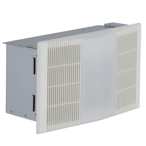 nutone  cfm ceiling bathroom exhaust fan  light   watt heater rp  home depot
