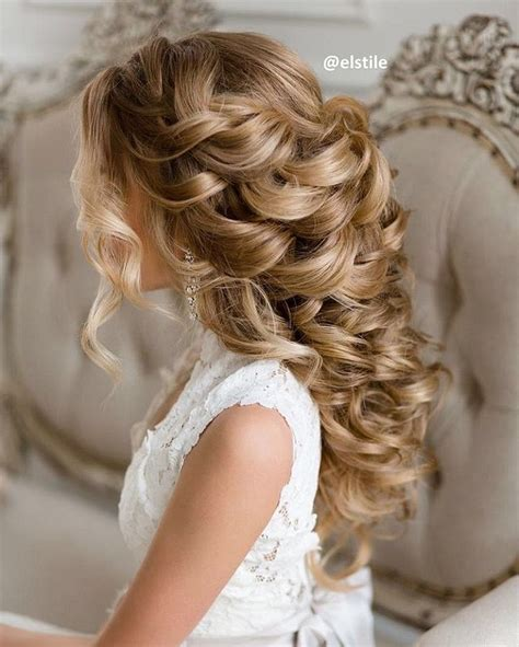 Curly Hairstyles For Wedding by Curly Wedding Hairstyle For Naturally Curly Hair