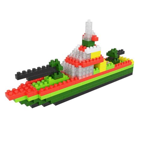 Puzzle Microparticles Blocks Ambulance Toys Multi Color puzzle microparticles blocks sailing frigate toys multi color jakartanotebook