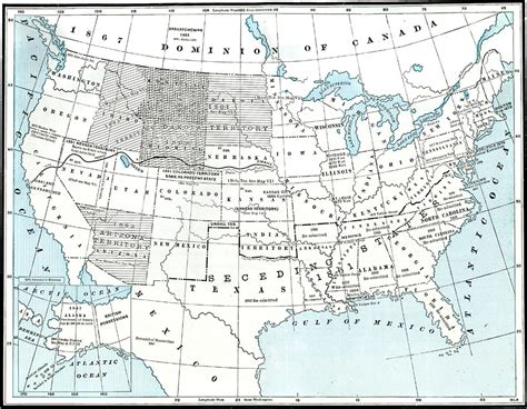 united states map post civil war post civil war united states