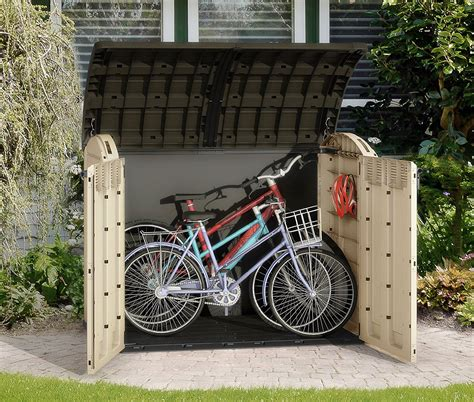 jardin ultra shed plastic bicycle shed best seller bicycle review