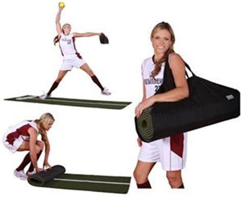 Powerline Pitching Mat by Promounds Jennie Finch Softball Mat W Powerline Baseball