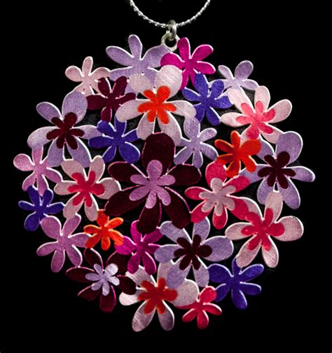 klimt fiori ciondolo secondo gustav klimt giardino in fiori primavera
