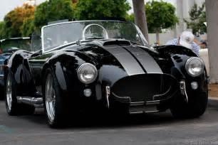 shelby cobra black silver flickr photo