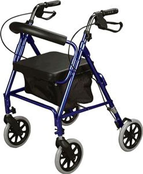 rollator walker with seat and brakes blue rollator walker with soft seat brakes 300 lb cap