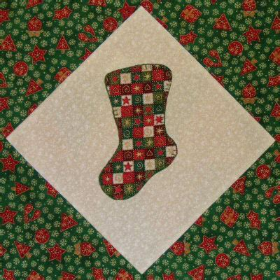 quilt patterns for christmas stockings free quilt along block 25 christmas stocking quilting gallery