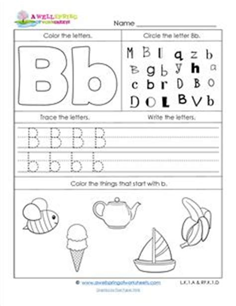 letter b worksheets worksheets by subject a wellspring of worksheets 1356