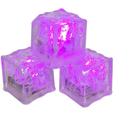 Cubes Pink led cubes 12pcs pink