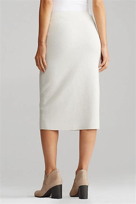 eileen fisher calf length pencil skirt from district of