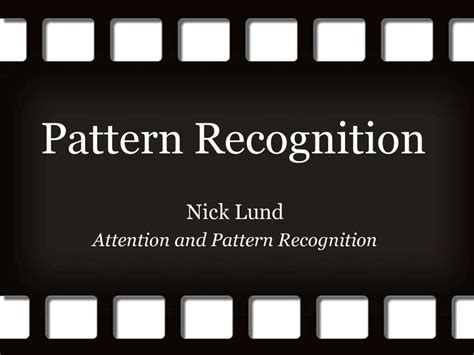 cognitive pattern recognition house pattern recognition