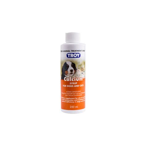 calcium for dogs dogs dietary supplements troy calcium syrup for dogs