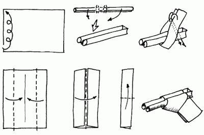 How To Make A Origami Gun - paper pistol www pixshark images