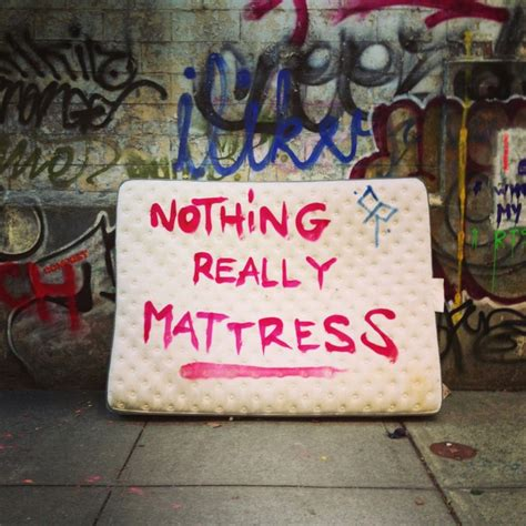 Nothing Really Mattress by Nothing Really Mattress