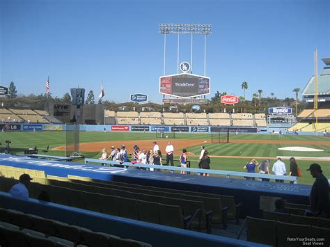 Dodger Stadium Sections by Dodger Stadium Section 17 Rateyourseats