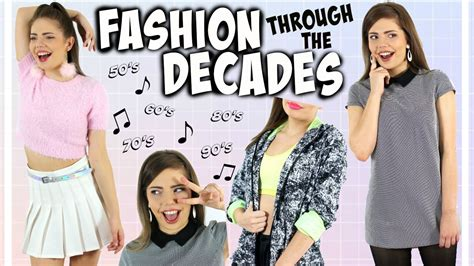 The 7 Best Fashion Trends Of The Decade by Fashion Trends Through The Decades A Style Timeline From